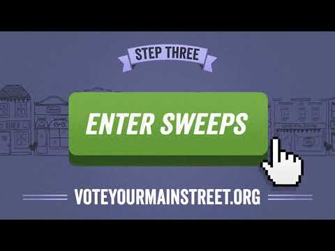 Vote Your Main Street with National Trust for Historic Preservation