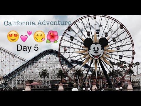 CALIFORNIA ADVENTURE(day 5 in California)|| Kennedy Huff