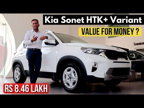 Kia Sonet HTK Plus Video   Value For Money & All Engine Options   Rs 8.46 Lakh 🔥
