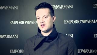 Giorgio Armani - 2015 Fall Winter - Menswear Collection - Post Show Interview with Manuel Neuer