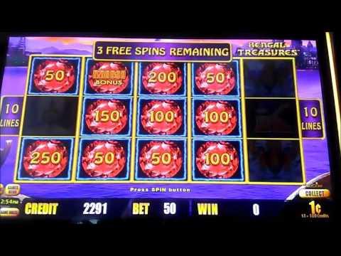 Lightning Link Bengal treasure Nice Bonus pokie slot win