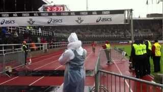 Winner Stockholm Marathon 2012