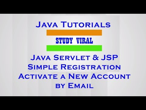 Java Servlet Registration Form With MySQL and Email Verification - Study Viral