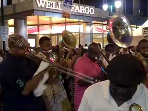 Musical Instruments Band at a Taste of Charlotte NC June 2012
