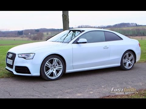 2015 Audi Rs5 Review Fast Lane Daily Youtube