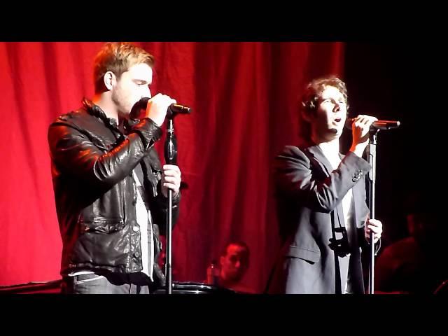 Josh Groban and Jai McDowall- To Where You Are...Glasgow