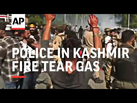 Police in Kashmir fire tear gas to disperse Muharram procession