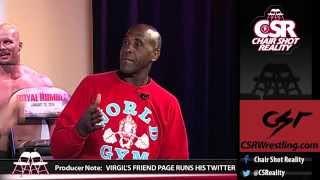 "WWE ""Legend"" Virgil Reads Mean Tweets"