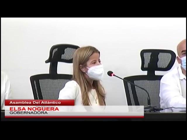 Gobernadora Noguera instaló el primer periodo de sesiones ordinarias de la Asamblea Departamental