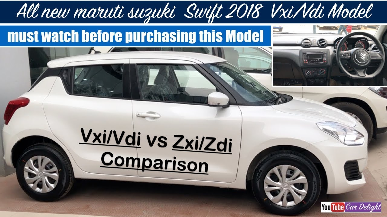 car models car latest s car reviews car how to get interior design experience Swift 2018 Vxi,Vdi Model Review | New Swift 2018 Vxi-Vdi Features,Interior  and Exterior. Team Car Delight