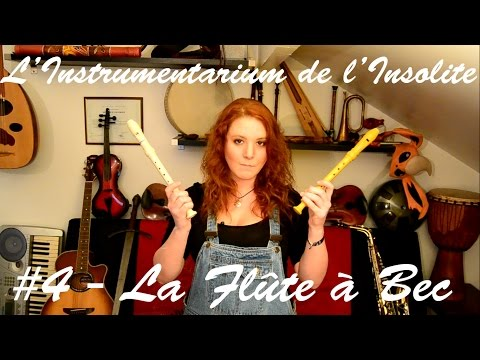 #4 - La Flûte à Bec - L'Instrumentarium de l'Insolite