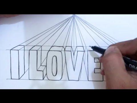 Tutorial cara membuat tulisan 3D terlihat rapi I Dhompy Graffiti I
