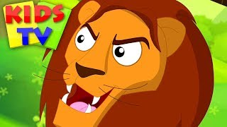 Roar Roar Lion | Children's Nursery Rhymes & Songs for Babies - Kids TV