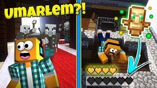 """Minecraft #399 -  """"DREWNIANA WILLIA! PRAWIE UMARŁEM?!"""""""
