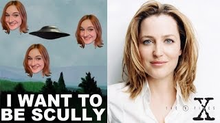 Dana Scully makeup -THE X FILES- makeup tutorial