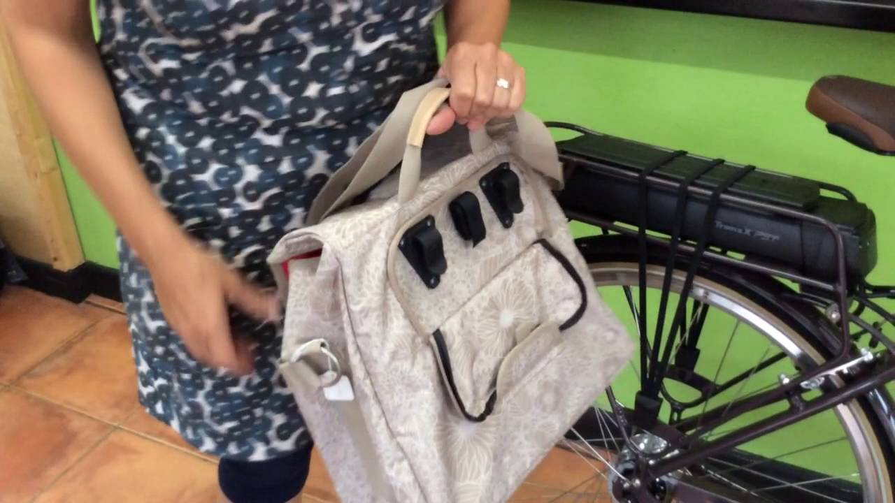 The Alba Pannier by New Looxs from Easy Pedal Bikes - YouTube 8beb715adced0