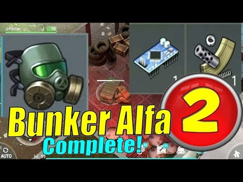 LEVEL 2 BUNKER ALFA COMPLETE GUIDE! LAST DAY ON EARTH! REAL!