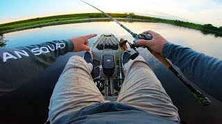 Kayak Fishing in Super Clear Water!!