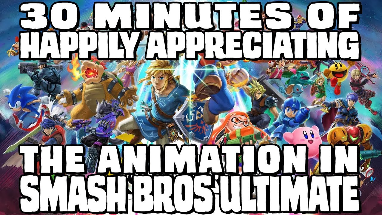 Half An Hour Of Happily Appreciating The Animation In Smash Bros Ultimate
