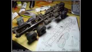 look it s paper paper model of kraz 255b