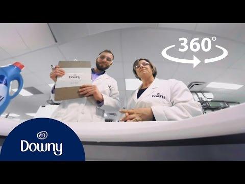 Go Inside A Washing Machine (360 Animation) | Downy