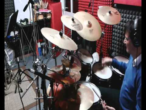 """CHARLES & EDDIE """"Would I Lie To You"""" Drum Cover"""