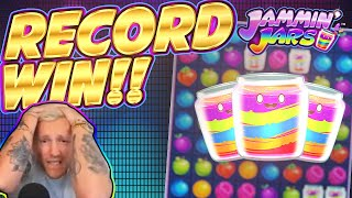 RECORD WIN!!!! Jammin Jars BIG WIN - INSANE WIN on Casino Game