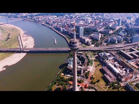 Düsseldorf 4k Drone DJI Phantom 3 Professional