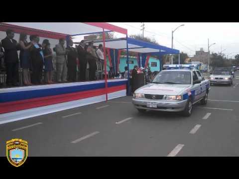 DESFILE SERENAZGO DE VICTOR LARCO HERRERA POR 71° ANIVERSARIO DEL DISTRITO