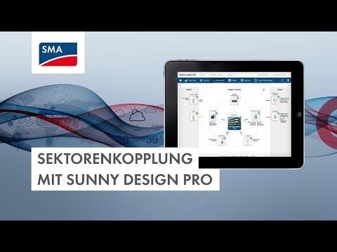 Sektorenkopplung mit Sunny Design Pro