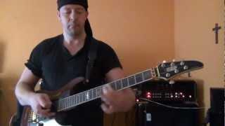 Eddie Van Halen, Panama By Endre Von Royko on ESP Horizon