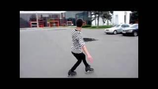 Элементы фигурного катания на роликах/Inline figure skating elements(Элементы фигурного катания на роликах в исполнении тренера клуба фигурного катания