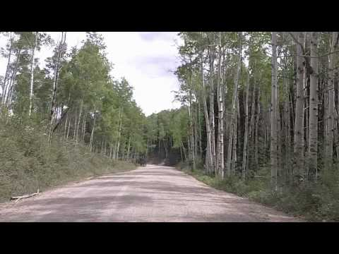 Drivelapse: Colorado's West Elk Loop: CR 12 to Crested Butte