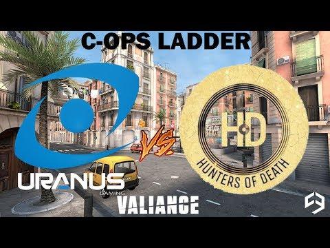 Valiance Cops Ladder - 🇧🇷 Uranus Gaming x Hunters of Death 🇧🇷 - Donai 🎥 - l Critical Ops l