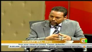 Cheche discussion on Cabinet reshuffle, Bribery bill 2015