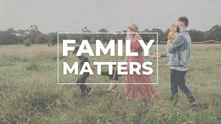 Family Matters: Family Finances Matter