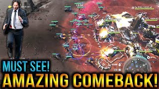 Halo Wars 2 - Crazy Comeback! I Thought It Was Over lol