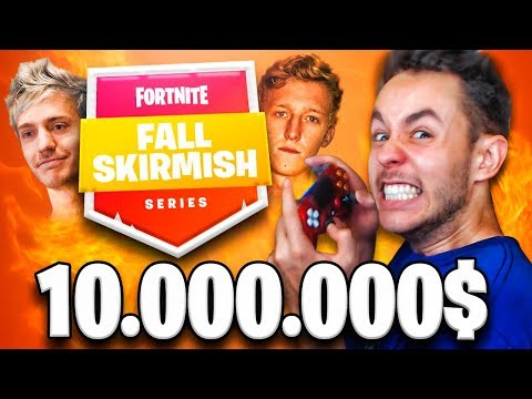 JUGANDO un TORNEO DE FORTNITE de $10.000.000 *FALL SKIRMISH* - TheGrefg