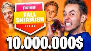 JUGANDO un TORNEO DE FORTNITE de $10.000.000 *FALL SKIRMISH* - TheGrefg