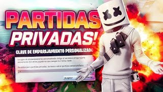* PARTIDAS PRIVADAS FORTNITE COSTA ESTE * DIRECTOS DE FORTNITE * SORTEO