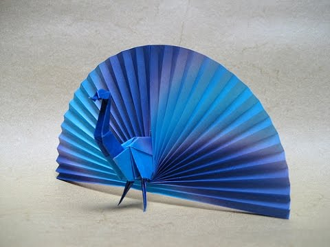 Origami Peacock By Vicente Palacios