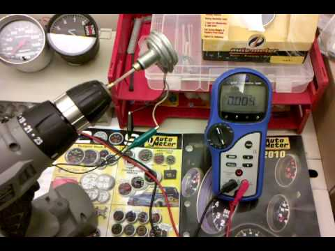 How to Test a 2 Wire Speed Sensor  YouTube