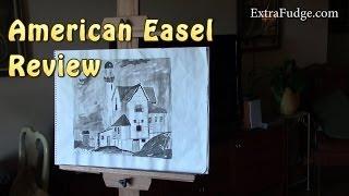 American Easel Oak Professional Easel Review