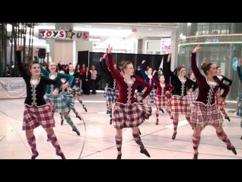 Highland Dancers At Metrotown 1