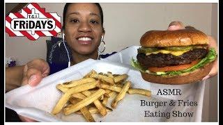 cheeseburger mukbang