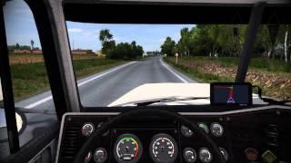 ETS 2: Калуга - Юхнов на Freightliner Classic XL