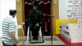 הרב יעקב בן חנן  -הרצאה בירושלים