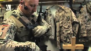 Bodyguards der Bundeswehr im Einsatz