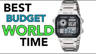 Casio World Time Review: Best Budget World Time Watch