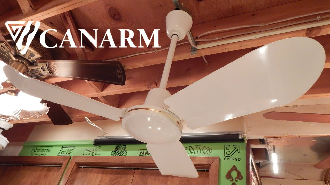 Canarm CP36 Industrial Ceiling Fan | 1080p HD Remake - YouTube